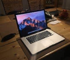 """Macbook pro 15"""" i7/16gb ram 256ssd EN kb"""