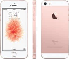 Apple iPhone SE 128GB, pink/růžová zlatá