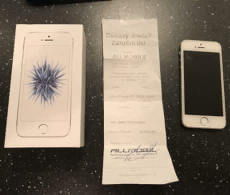 Iphone SE 16GB stříbrný