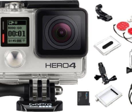 Levně prodám TOP GoPro Hero 4 Silver LCD