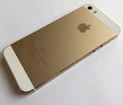 iPhone 5S 16GB GOLD+SKLO Kat.A 6M záruka