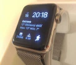 Apple Watch series 2 milánský tah