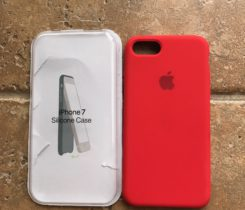 Silicon Case – iPhone 7 (Red Product)