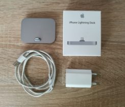 Apple Lightning dock + orig. kabel/USB