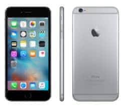 Iphone 6 + space gray 64GB