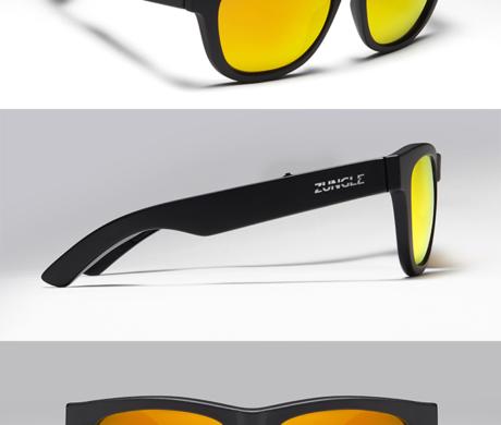 ZUNGLE -hudební bluetooth sluneční brýle