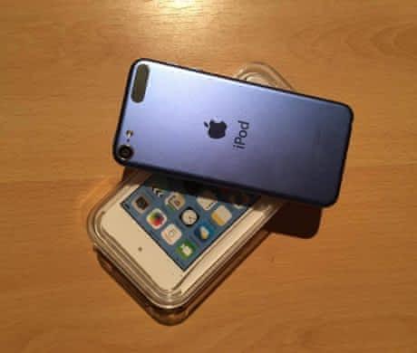 iPod touch 6.gen 16GB modrý