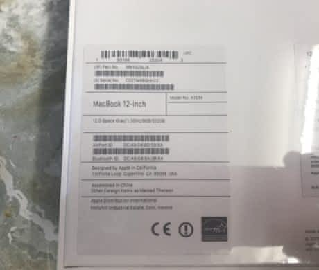 "MacBook 12"" i5 1.3GHz/8GB/512GB/S"