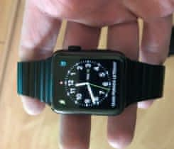 Apple Watch 2, 42mm, černé ocel/safír