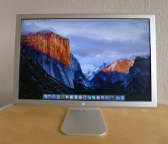 Monitor Apple Cinema Display 20""