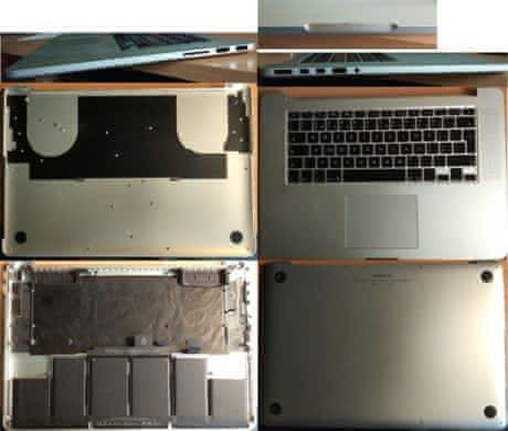 Chasis MacBook Pro 15 Retina A1398