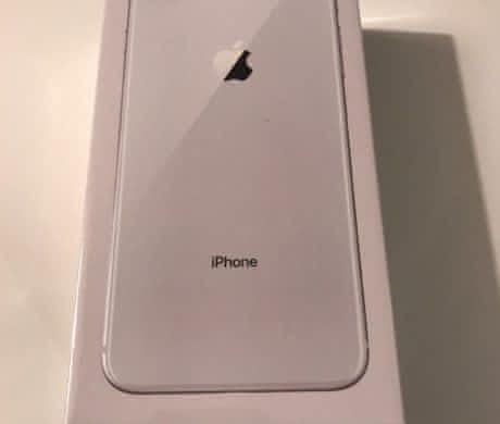 Apple iPhone 8 Plus 256GB stříbr