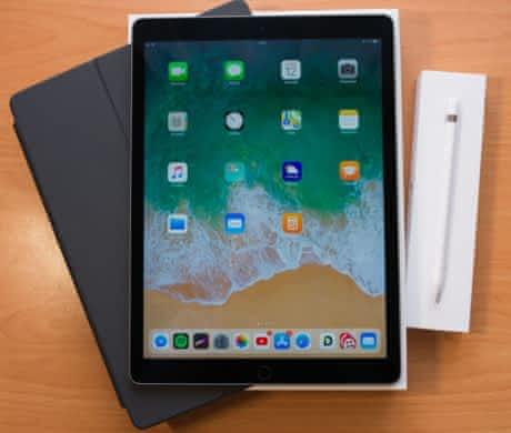 "iPad Pro 12,9"" 128GB, Apple Pencil,Cover"