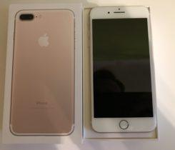 iPhone 7 Plus 256GB Zlatý, Nový, Záruka