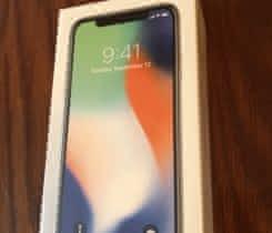 iPhone X 256GB stříbrný – nerozbalený