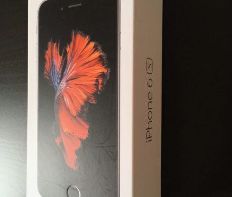 iPhone 6S – 16Gb plne funkcni, prasklina