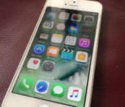 stříbrný iPhone 5 16GB