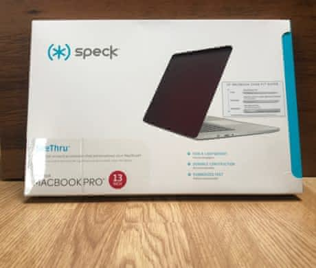"Speck SeeThru Macbook Pro 13"" – červený"