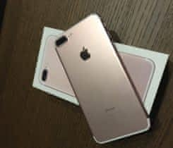 Prodám Iphone 7 plus ROSE GOLD 32 GB