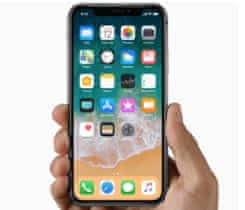 iPhone X 256GB Space Grey, nerozbalený