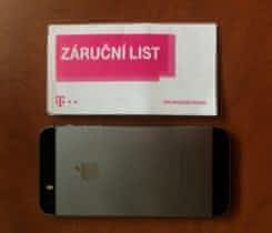 iPhone 5S 16GB Space Grey ZÁRUKA