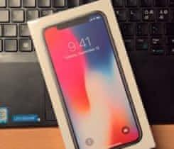 iPhone X 256 nový, pouze vyzkoušený