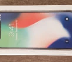 Apple iPhone X 64GB Silver – Nerozbalený