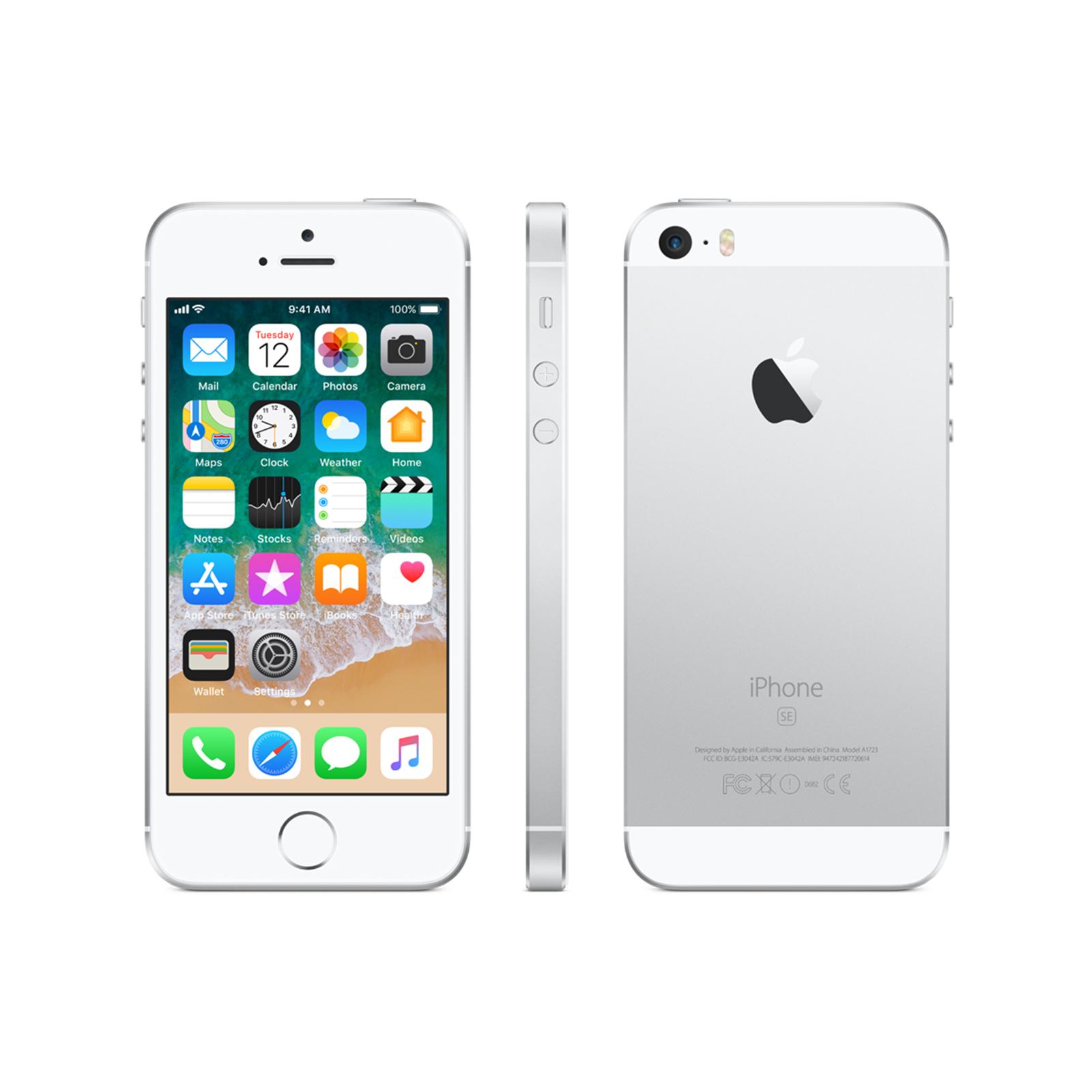 iphone se 16 gb silver apple bazar. Black Bedroom Furniture Sets. Home Design Ideas