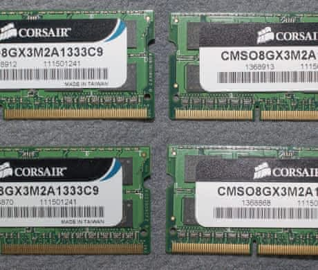 DDR3 SO-DIMM 1333MHz 4x 4GB (16GB) iMac
