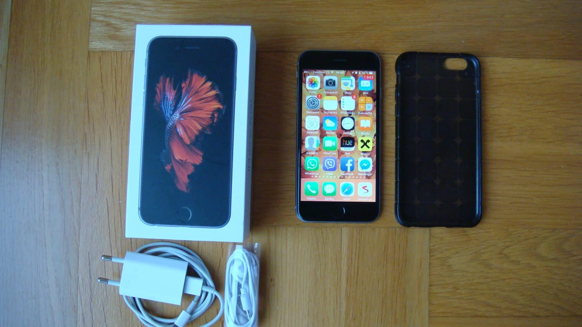 apple iphone 6s 128g super stav apple bazar. Black Bedroom Furniture Sets. Home Design Ideas