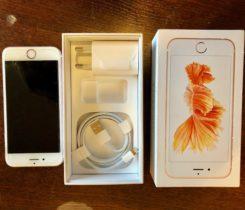 iPhone 6s, 16GB, rose gold
