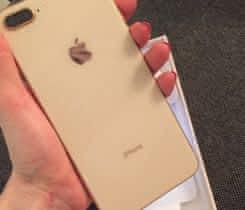 prodám  iphone 8 plus gold 256 GB