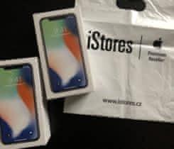 Úplně nový iPhone X Silver 64 gb