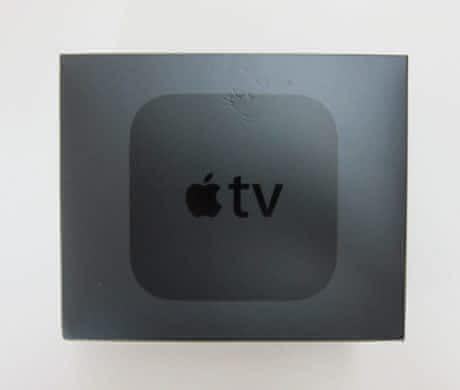 Krabicka od Apple TV 4gen
