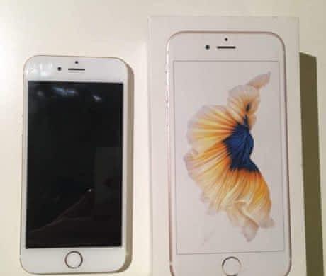 iPhone 6s 16 GB zlatý