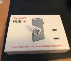 USB C hub 6v1 včetně HDMI