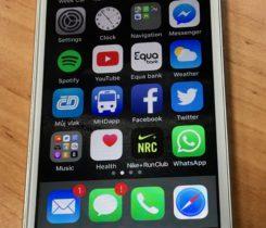 iPhone 5s 32GB bílý
