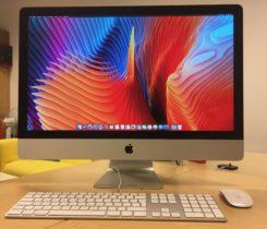 "iMac 27"" late 2012 i5 3.2 GHz"