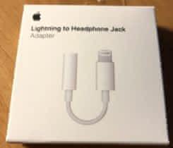 Lightning adaptér pro 3,5mm sluch.jack