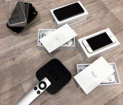 2x iPhone 5S s přísl. + Apple TV 3gen.
