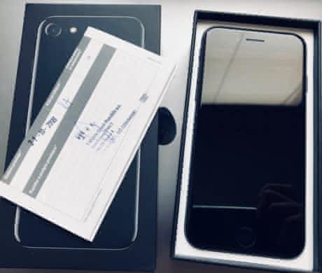 iPhone 7 Jet Black 128 GB. Záruka 9 měs.