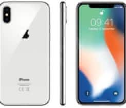 iPhone X 256gb silver pojisten