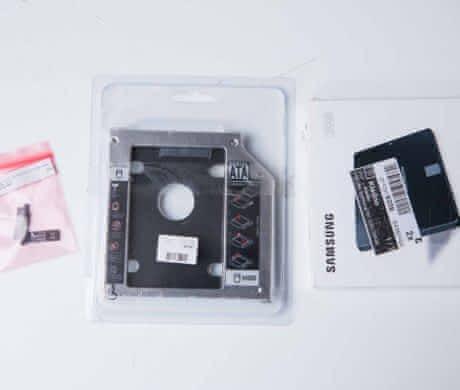 SSD 250 + BOX + SATA