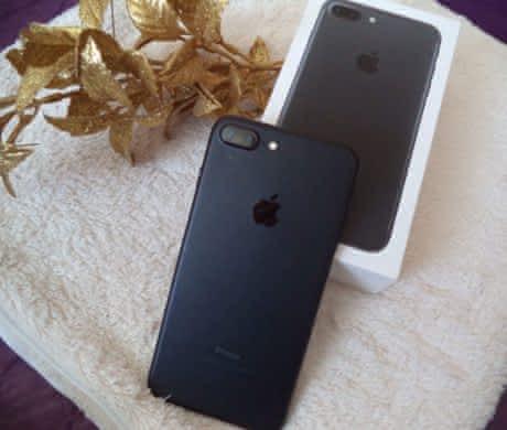 iPhone 7 plus, 128 GB, matně černý