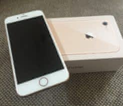 Prodám iPhone 8 gold 64 gold