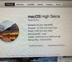 Macbook 13 Mid 2010, 256 Gb, 8Gb Ram