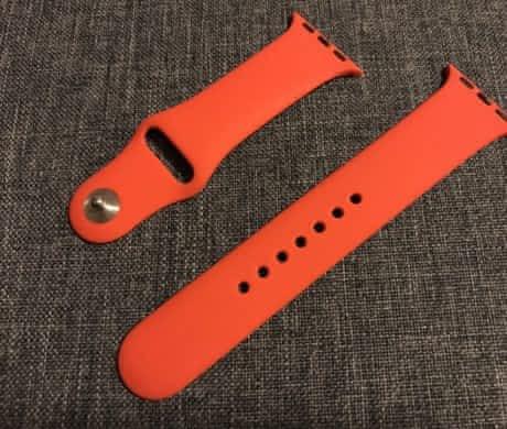 Apple Watch 38mm pásek – červený
