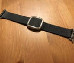 Apple Watch 38mm pásek – černý kožený