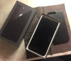 Prodej iPhone 8 Plus, 64GB + kožený kryt