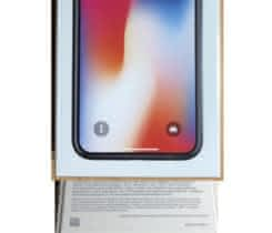 iPhone X 256GB Space Grey, Nový.